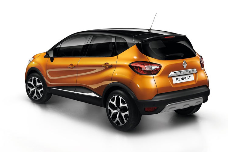 Renault Captur SUV 1.0 TCe 90PS Iconic 5Dr Manual [Start Stop] back view