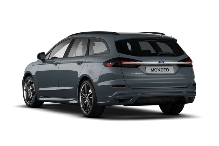 Ford Mondeo Estate 2.0 EcoBlue 150PS Zetec Edition 5Dr Manual [Start Stop] back view