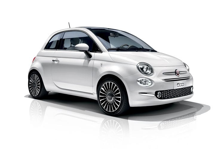 Fiat 500 Hatch 3Dr 1.0 MHEV 70PS Dolcevita Plus 3Dr Manual [Start Stop] front view