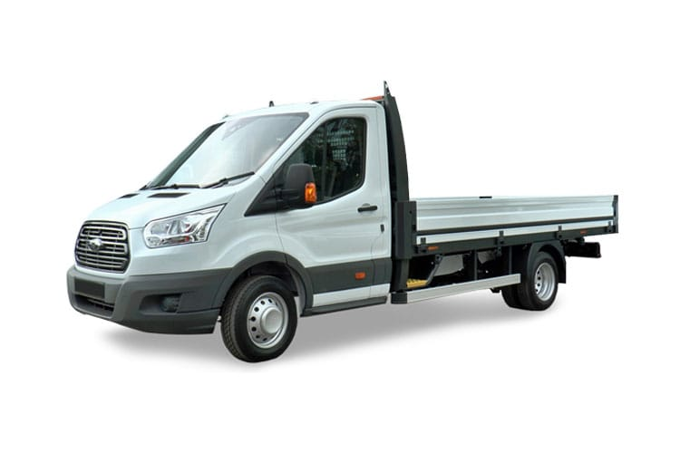 Ford Transit 350HD L4 2.0 EcoBlue FWD 160PS Leader Premium Dropside Manual [Start Stop] front view