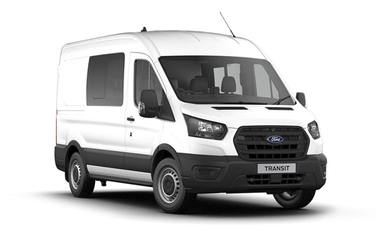 Ford Transit 350 L3 RWD 2.0 EcoBlue RWD 130PS Trend Crew Van High Roof Manual [Start Stop] [DCiV] front view