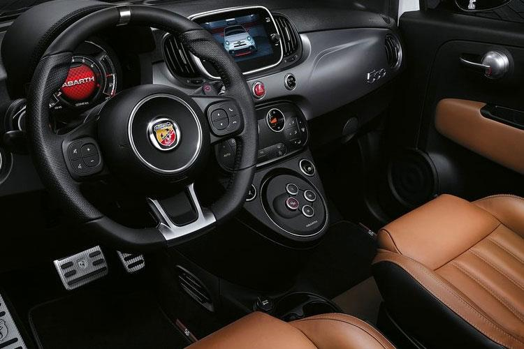 Abarth 595 Hatch 3Dr 1.4 T-Jet 165PS Turismo 3Dr Auto inside view
