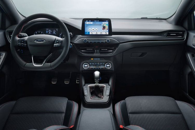 Ford Focus Estate 1.0 T EcoBoost 125PS Active Edition 5Dr Auto [Start Stop] inside view