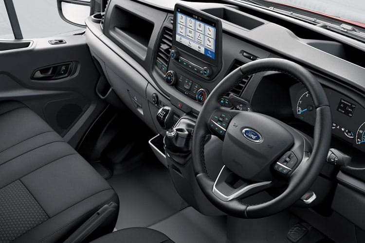 Ford Transit 350 L3 RWD 2.0 EcoBlue RWD 130PS Trend Crew Van High Roof Manual [Start Stop] [DCiV] inside view